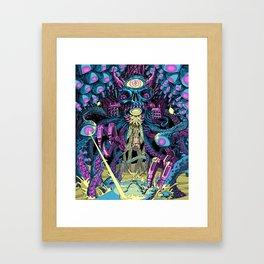 Boss Fight! Framed Art Print