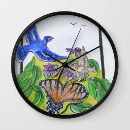 Fools Fantasy Wall Clock