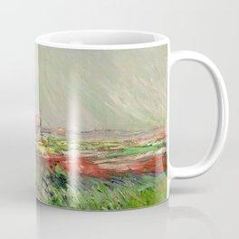 Monet, Tulip Field in Holland, 1886 Coffee Mug