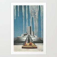 Every Melting Degree Art Print