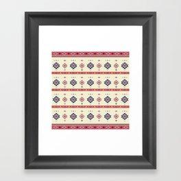 AFE Tribal Pattern2 Framed Art Print