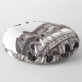Colosseo Floor Pillow