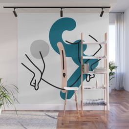 Dress up girl Wall Mural
