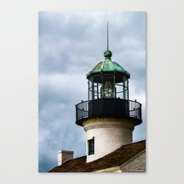 The Tower at Cabrillo Lighthouse Canvas Print