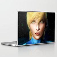 samus Laptop & iPad Skins featuring Samus Aran by Joe Roberts