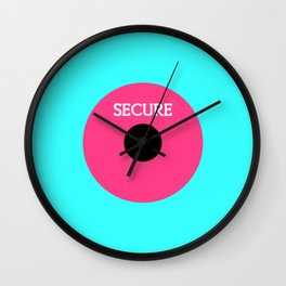 Perfectly Insecure Wall Clock
