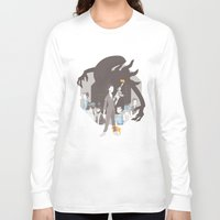 alien Long Sleeve T-shirts featuring Alien by Florey