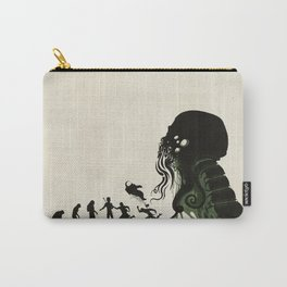 Lovecraftian Darwinism Carry-All Pouch