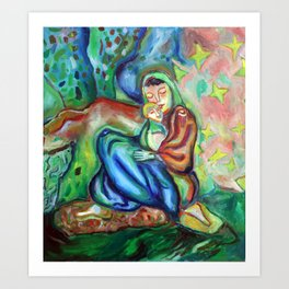Sario Painter , Danae Art Print