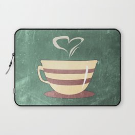Coffee is love illustration Laptop Sleeve