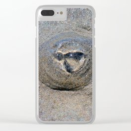 Beached Jellyfish Clear iPhone Case