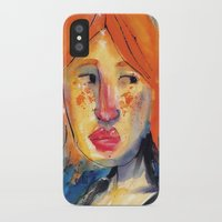 redhead iPhone & iPod Cases featuring Redhead by Danilo Gonçalves