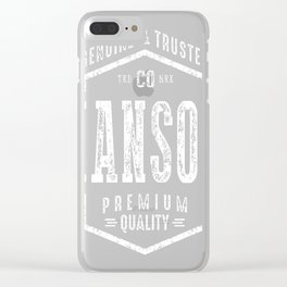Hanson-Name Clear iPhone Case