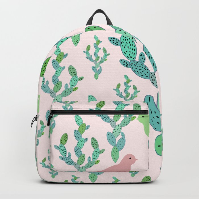 Birds and cacti Backpack