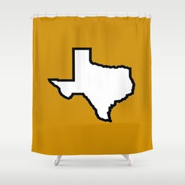 Texas Longhorns Shower Curtain