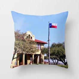 Historic Stock Yards Throw Pillow