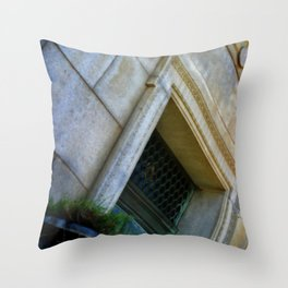 The Last Door Throw Pillow