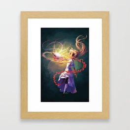 My Life With A Rude Book Framed Art Print