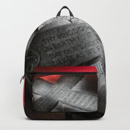 Lord's Prayer Backpack