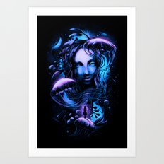 Ocean of Secrets Art Print
