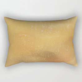 Gold Background Rectangular Pillow