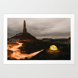 Valley of the Gods Art Print