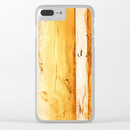 Abstracts 09 Clear iPhone Case