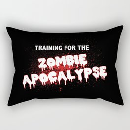 Training For The Zombie Apocalypse Rectangular Pillow