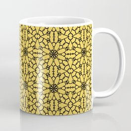 Primrose Yellow Lace Coffee Mug