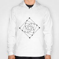 sacred geometry Hoodies featuring Sacred Geometry II by melonweed