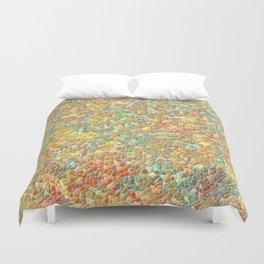 Colorful Pebble Mosaic Duvet Cover