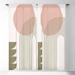 Minimal Geometric Shapes 143 Blackout Curtain