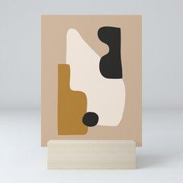 abstract minimal 16 Mini Art Print