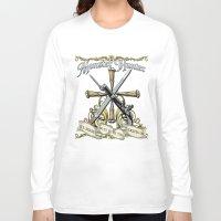 monster hunter Long Sleeve T-shirts featuring Monster Hunter by Egregore Design