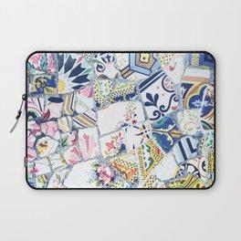 Gaudi Park Guell Mosaic Laptop Sleeve