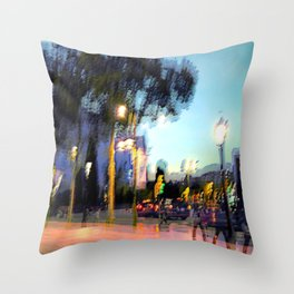 At some point the light must make its way through. Throw Pillow