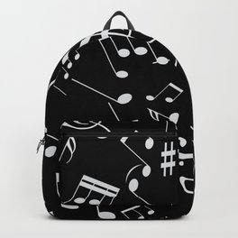 Musical Notes 20 Backpack