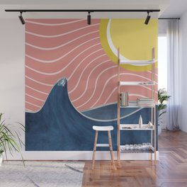 Sun, beach and sea Wall Mural
