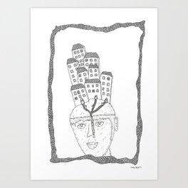 hat of house ideas Art Print