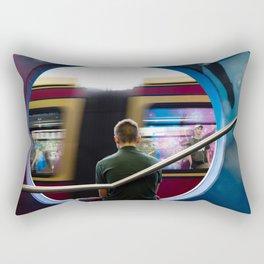 The subway man Rectangular Pillow