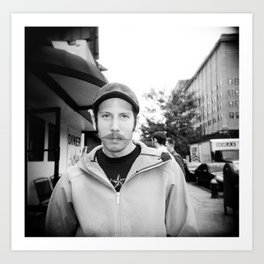 NYC holga portraits 4 Art Print