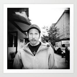 NYC holga portraits 4 Art Print