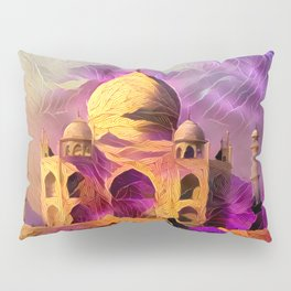 Violet Temple Pillow Sham
