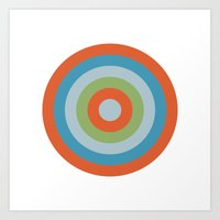 Target XVI Art Print
