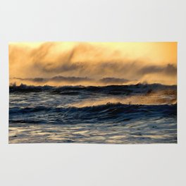 Sunset Wave Action Rug