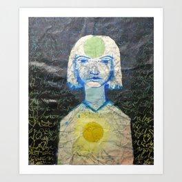 Shakras Art Print