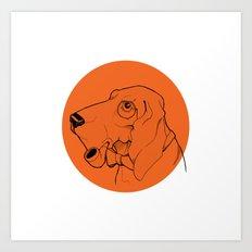 Canis Art Print