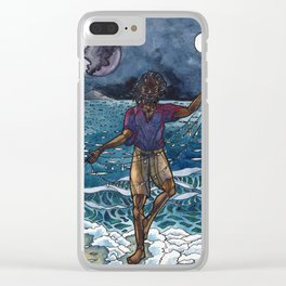 love letters to the sea Clear iPhone Case