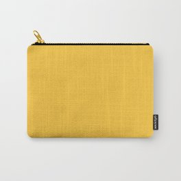 Yellow Gold Solid Color Coordinates Carry-All Pouch