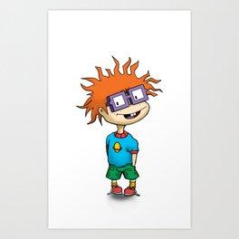 Chuckie Finster Art Print